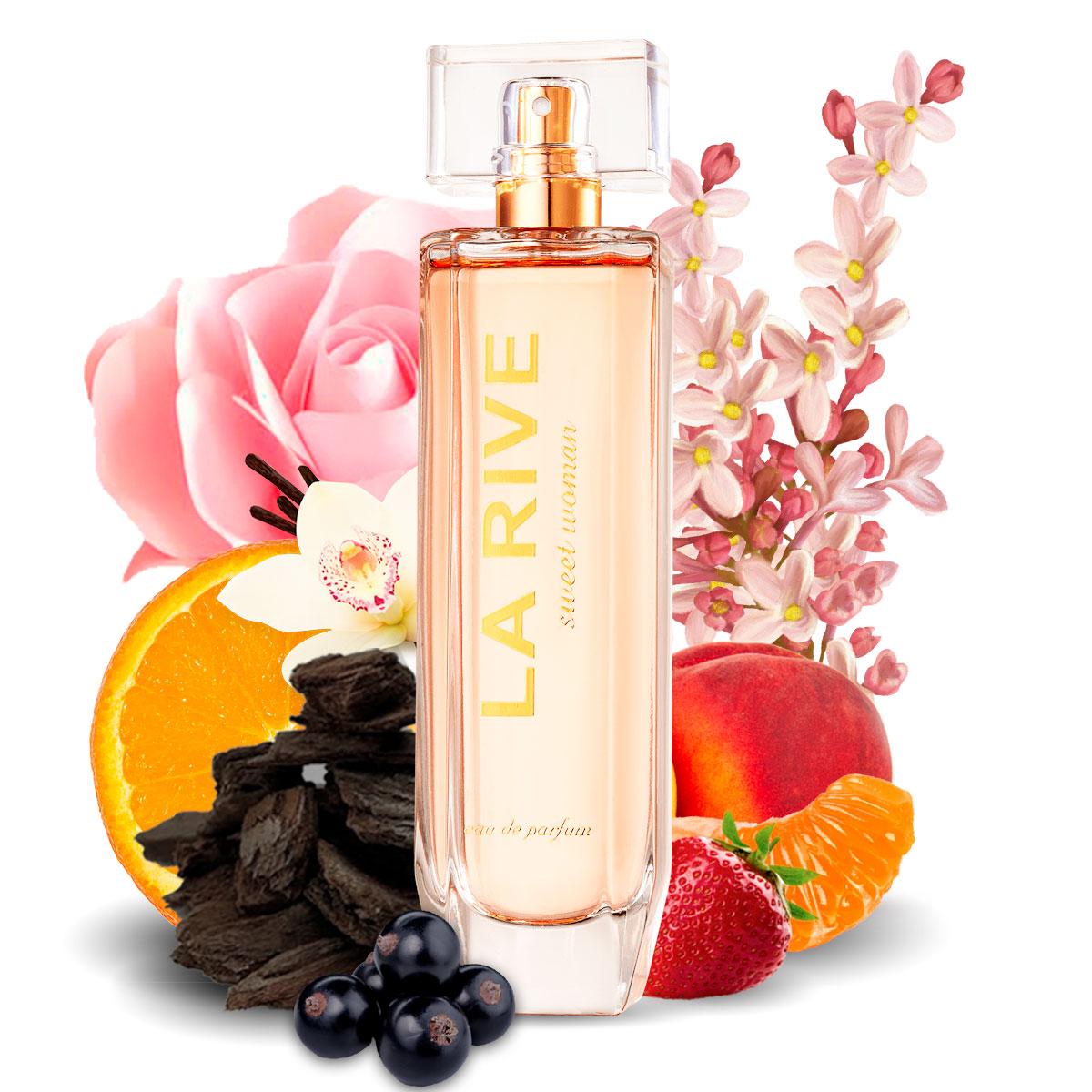 Perfume Sweet Woman Feminino Edt 90ml La Rive
