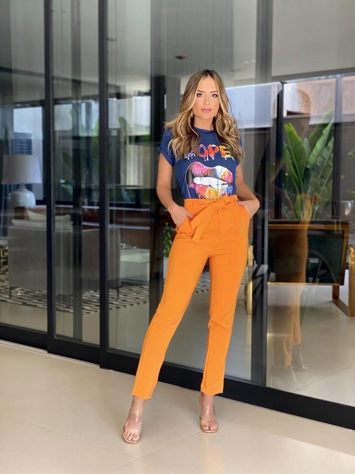 CALÇA EMILIA -laranja