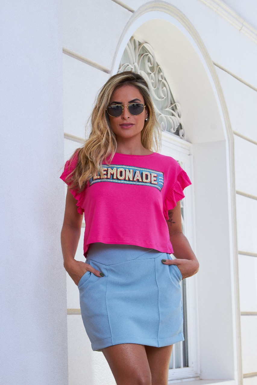 T-SHIRT CROPPED MADER