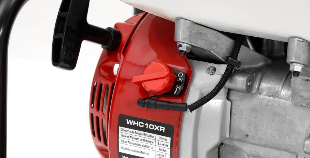 "MOTO BOMBA  1"" GAS. HONDA WHC10XR 4 ESTAGIOS"