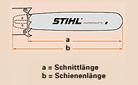 """Sabre para motosserra 40cm Duromatic STIHL 1,6mm 3/8"""""""