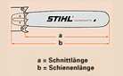 "Sabre para motosserra 40cm Rollomatic STIHL 1,6mm 3/8"""