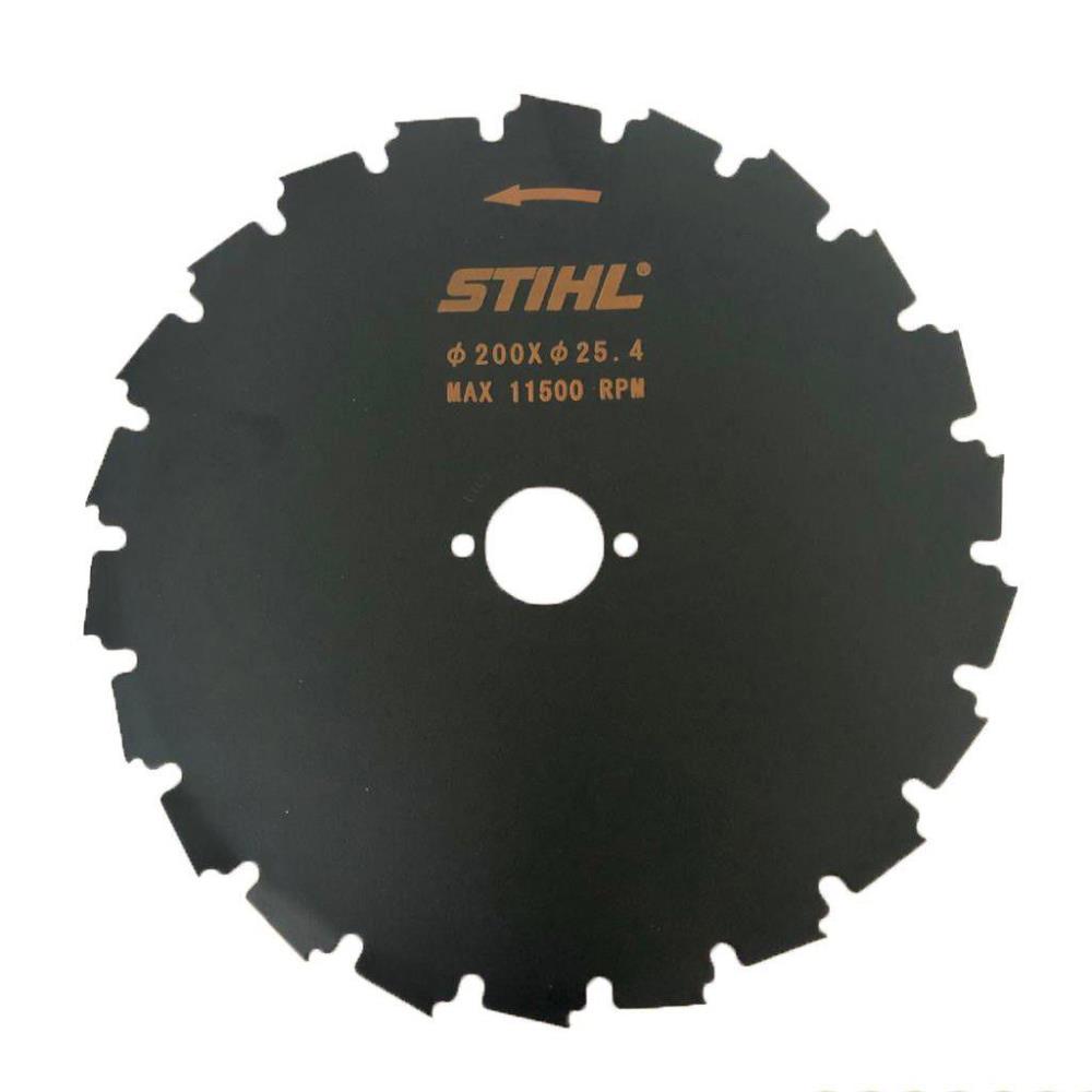 Serra circular STIHL 200mm 22 dentes especial furo 25,4mm FS 80 FS 85 FS 120