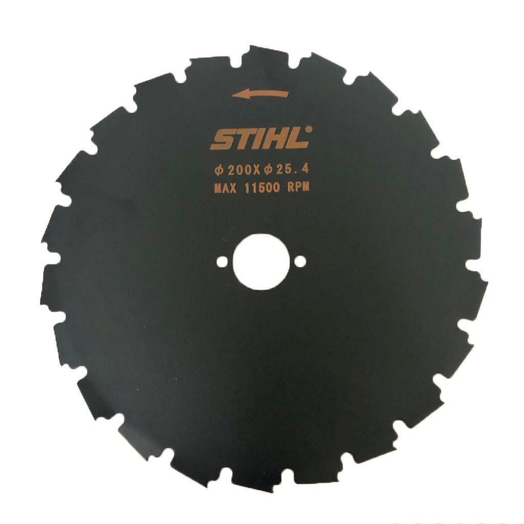 Serra circular Stihl 225mm 24 dentes especial furo 20mm FS 160 FS 220 FS 290