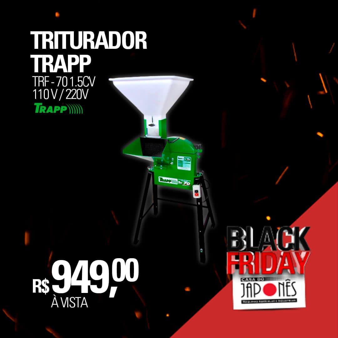 Triturador forrageiro TRF 70 127/220V 1,5CV monofásico