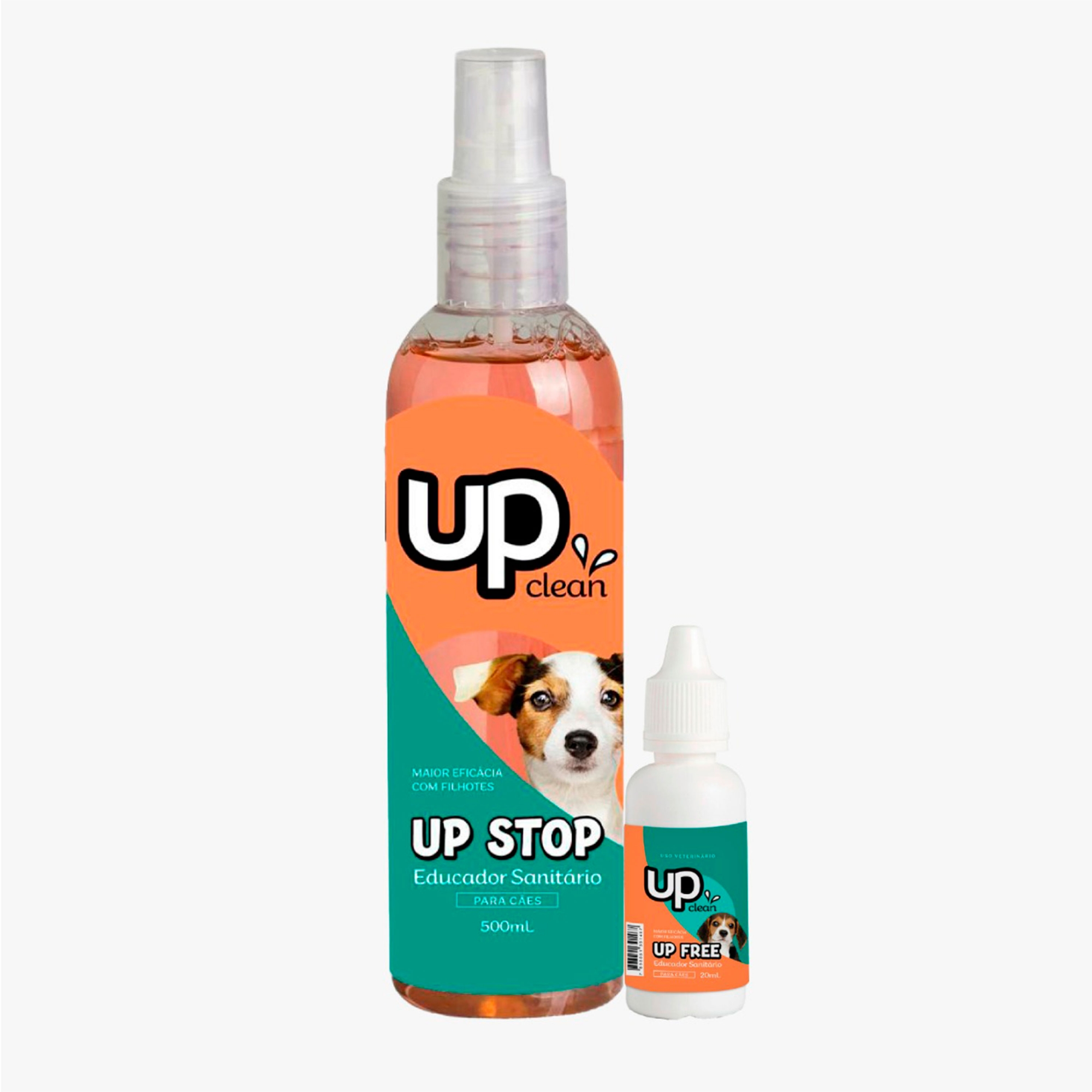 Casadinho Up Clean - Up Stop de 500ml / Up Free 20ml