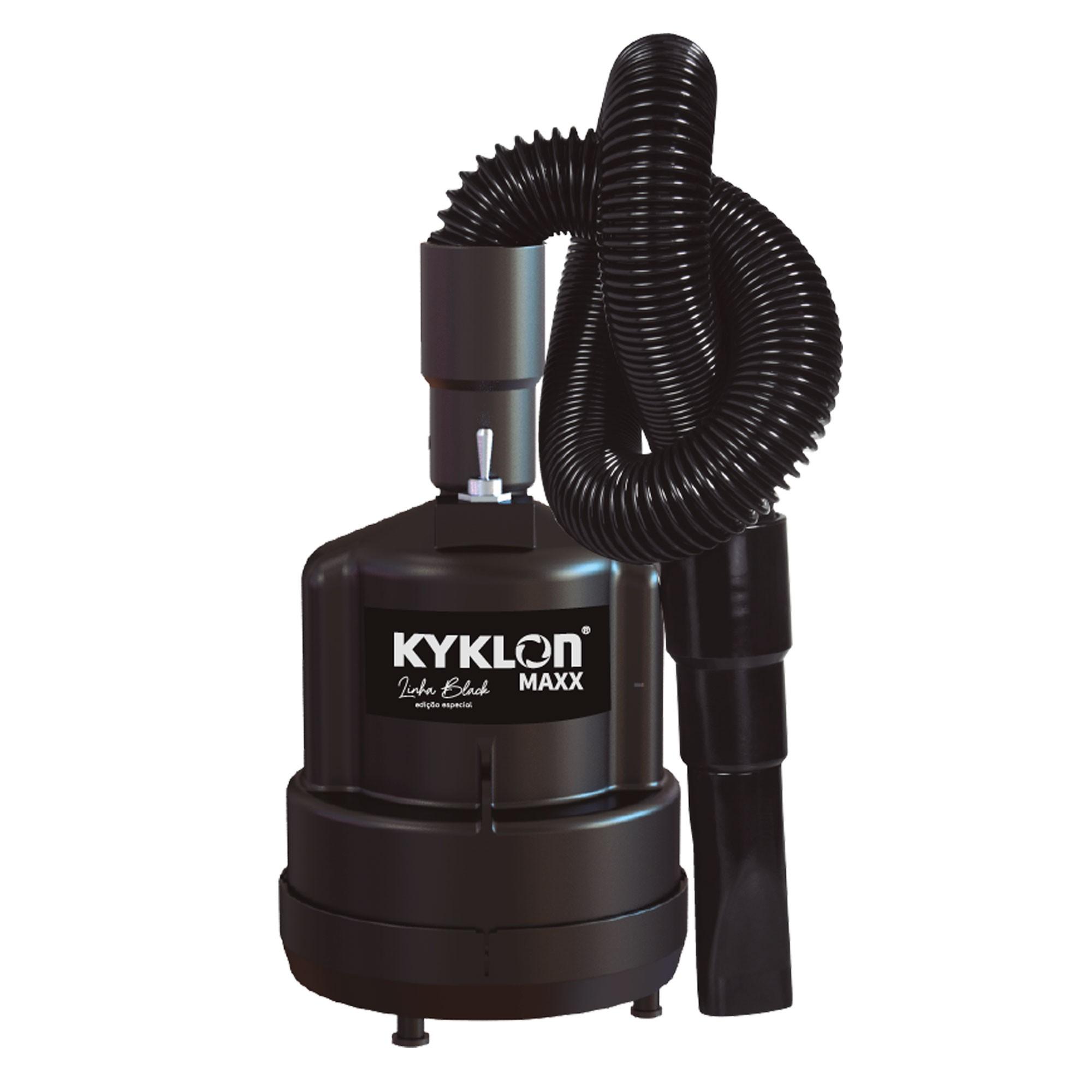 Combo Secador + Soprador Black Kyklon 220V