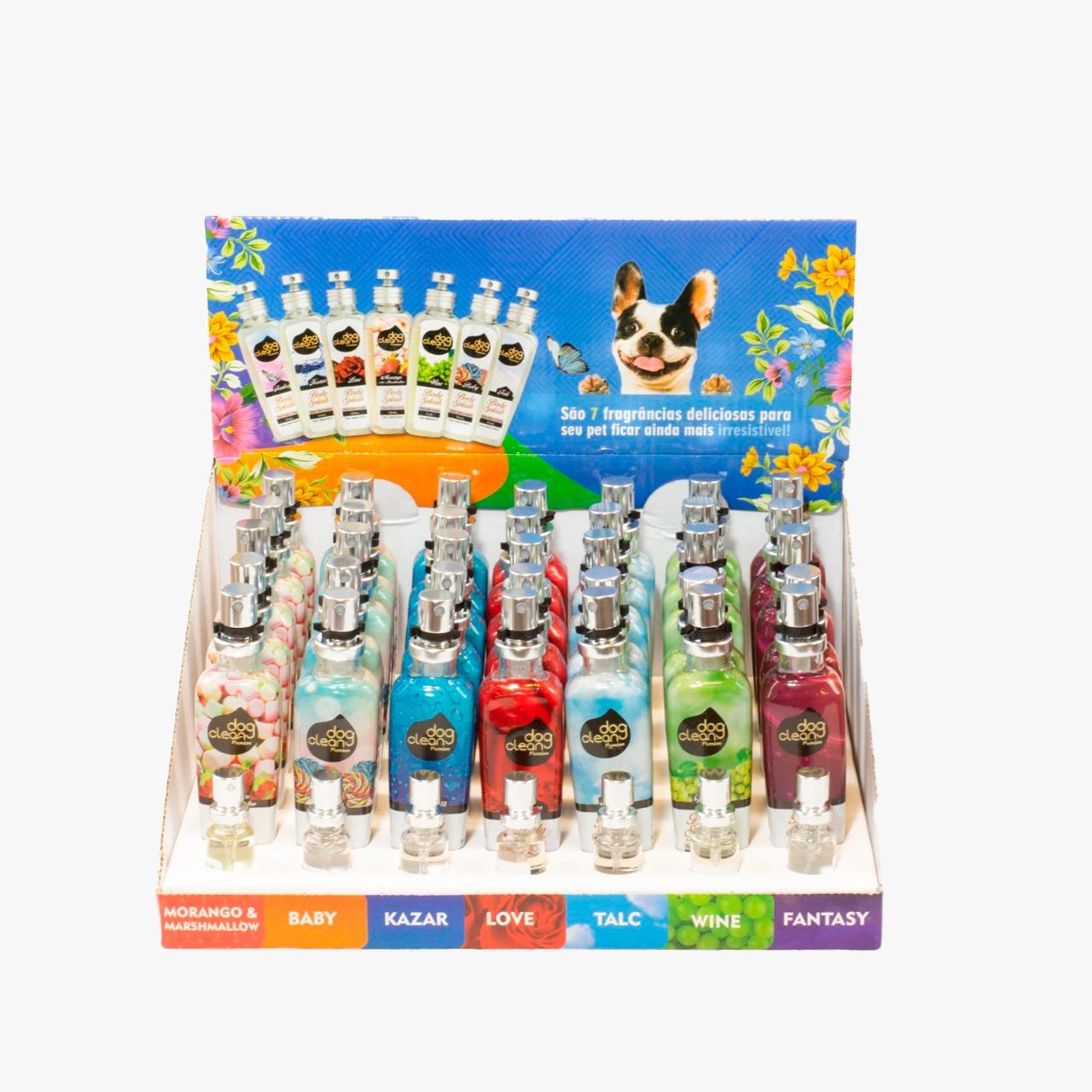 Display de Perfume Body Splash c/ 35 unidades de 55ml Dog Clean