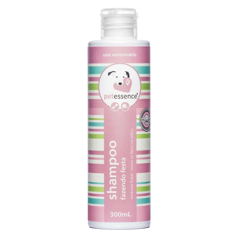 Kit Shampoo e Condicionador Fazendo a Festa 300ml PetEssence