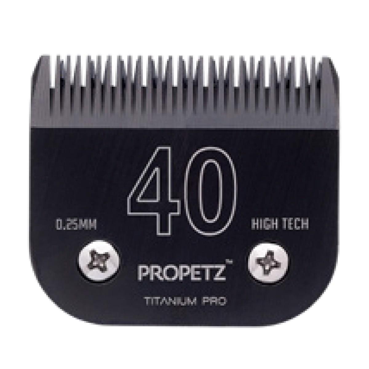 Lamina 40 Premium Titanium Propetz - 0,25mm
