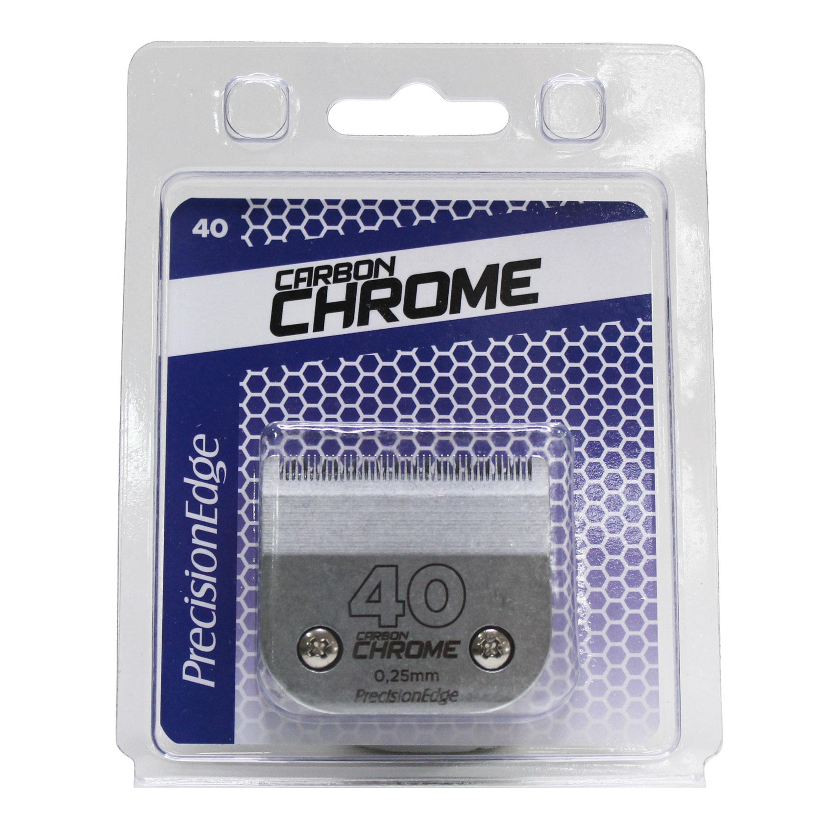 Lâmina Precision Edge Carbon Chrome 40 - 0,25mm
