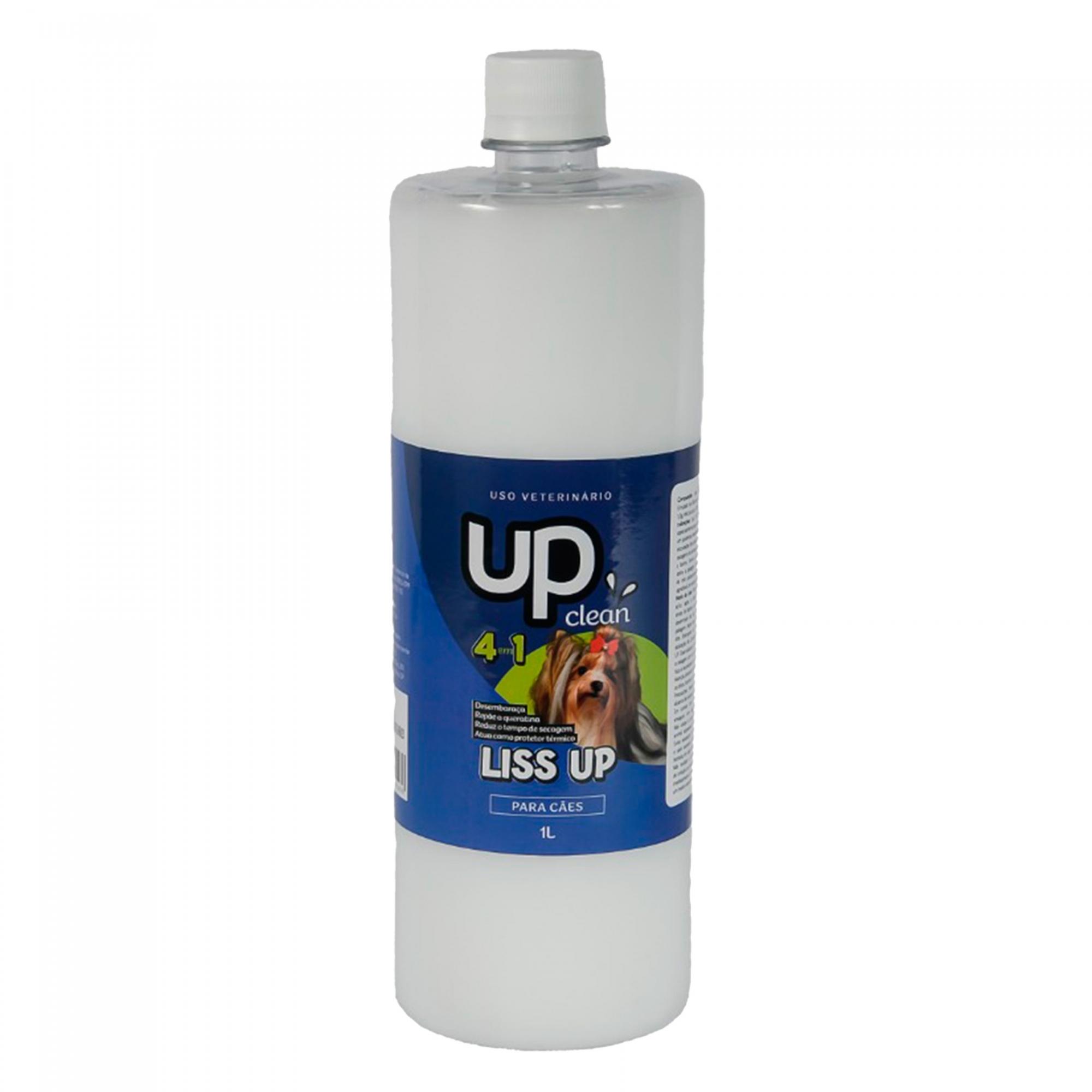 Liss Up 1 Litro - Up Clean - 4 em 1 desembaraçador para cães