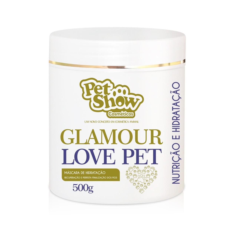 Máscara Glamour Love Pet 500g Pet Show