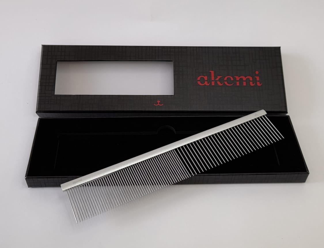 Pente 23cm Akemi Alumínio Propetz