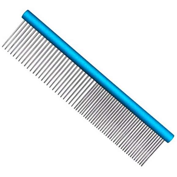 Pente 25cm Duplo Alumínio Azul Precision Edge