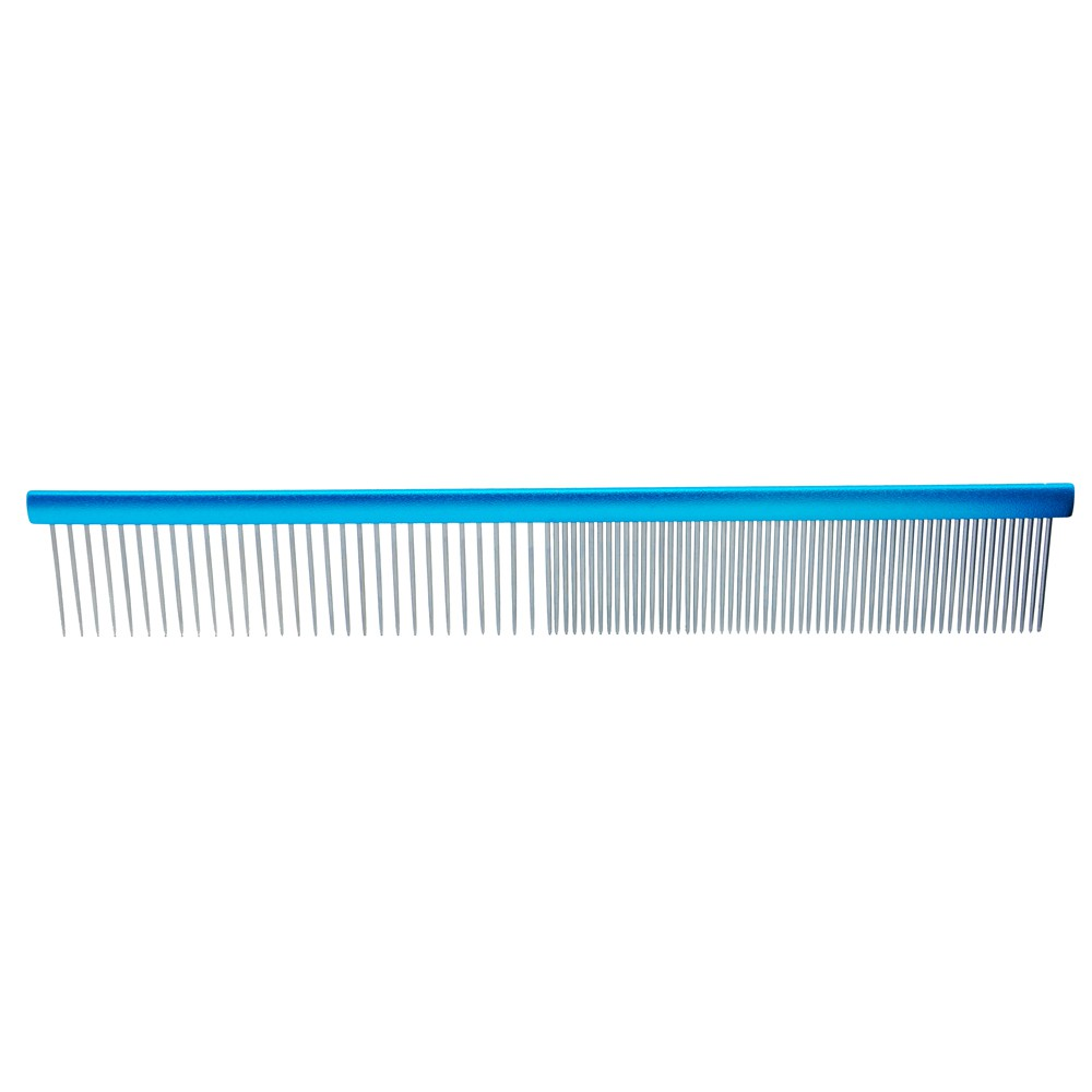 Pente 30cm Duplo Alumínio Azul Propetz