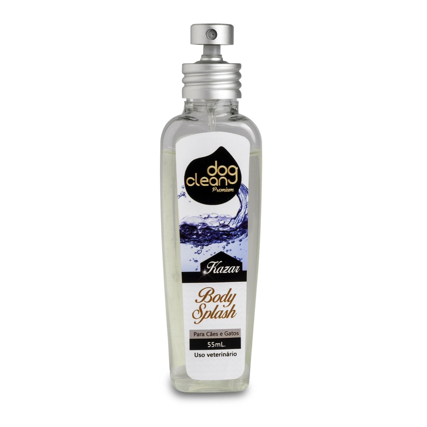 Perfume Body Splash Kazar 55ml Dog Clean