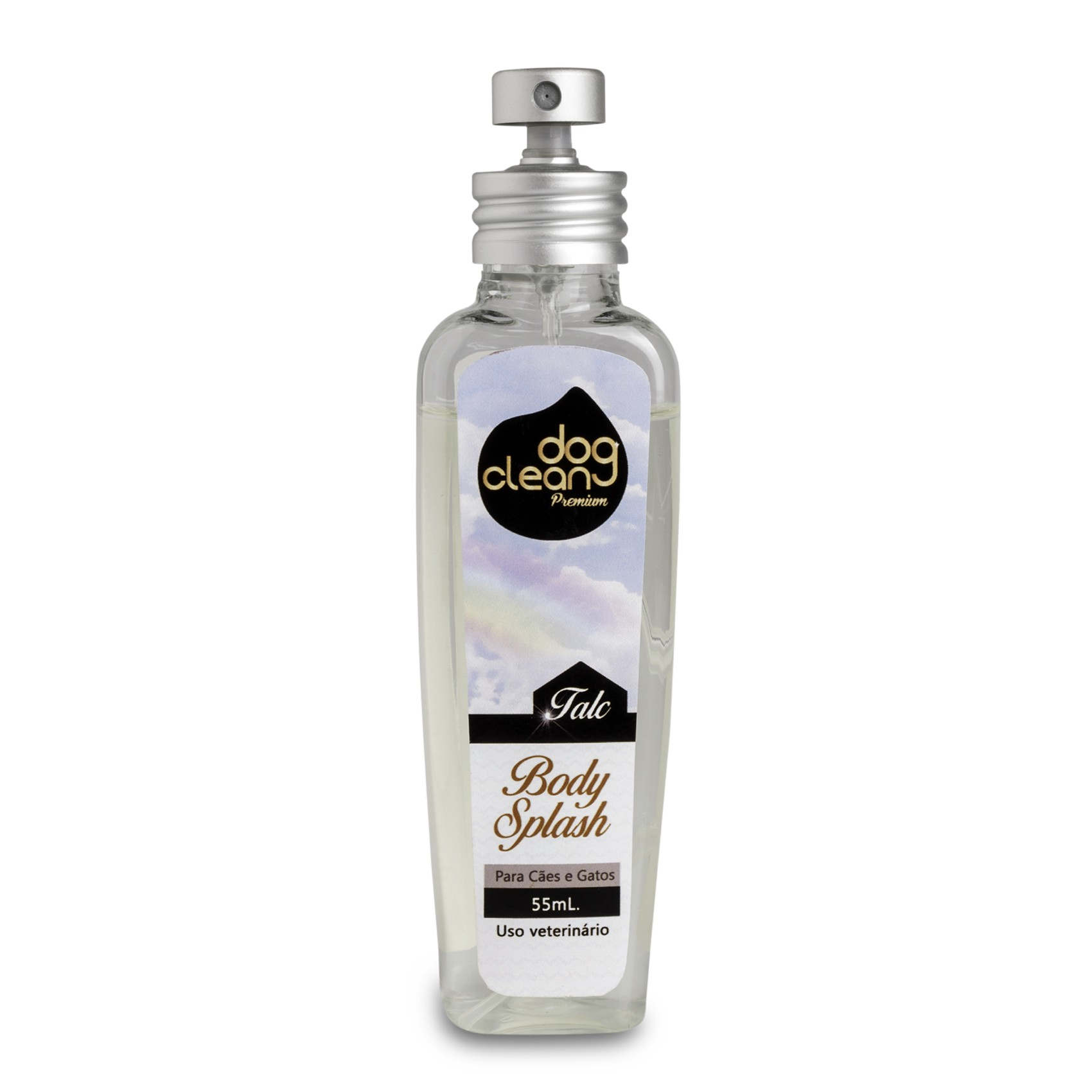 Perfume Body Splash Talc 55ml Dog Clean