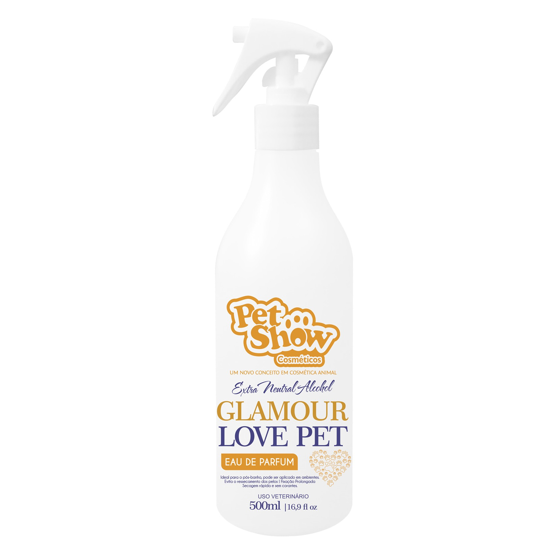 Perfume Glamour Love Pet 500ml Pet Show