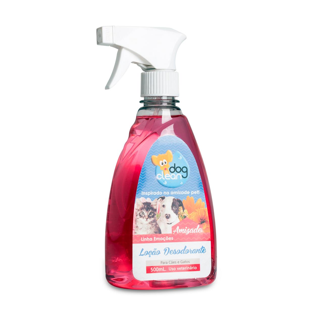 Perfume Loção Amizade 500ml Dog Clean