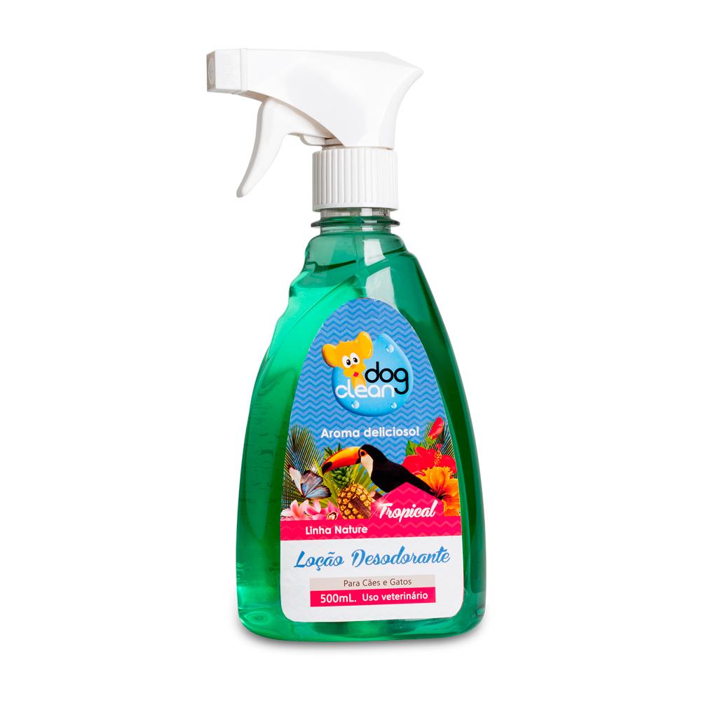 Perfume Loção Tropical 500ml Dog Clean
