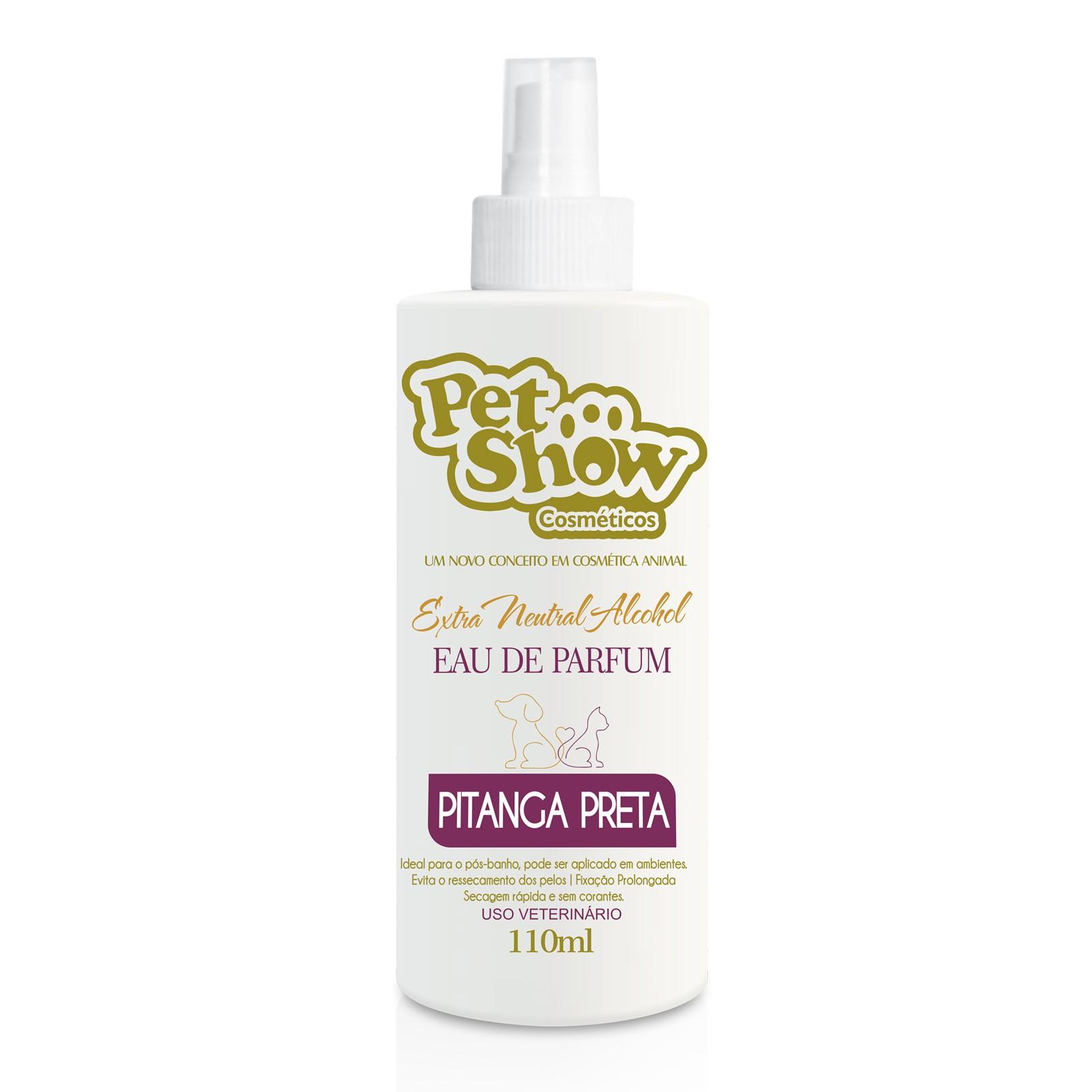 Perfume Pitanga Preta 110ml Pet Show