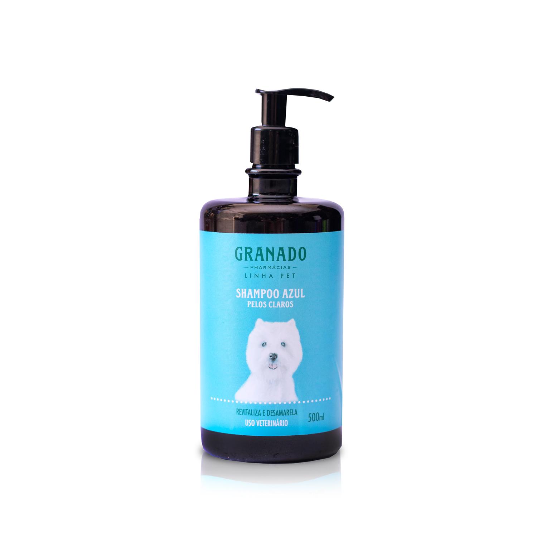 Shampoo Azul Pelos Claros 500ml Granado