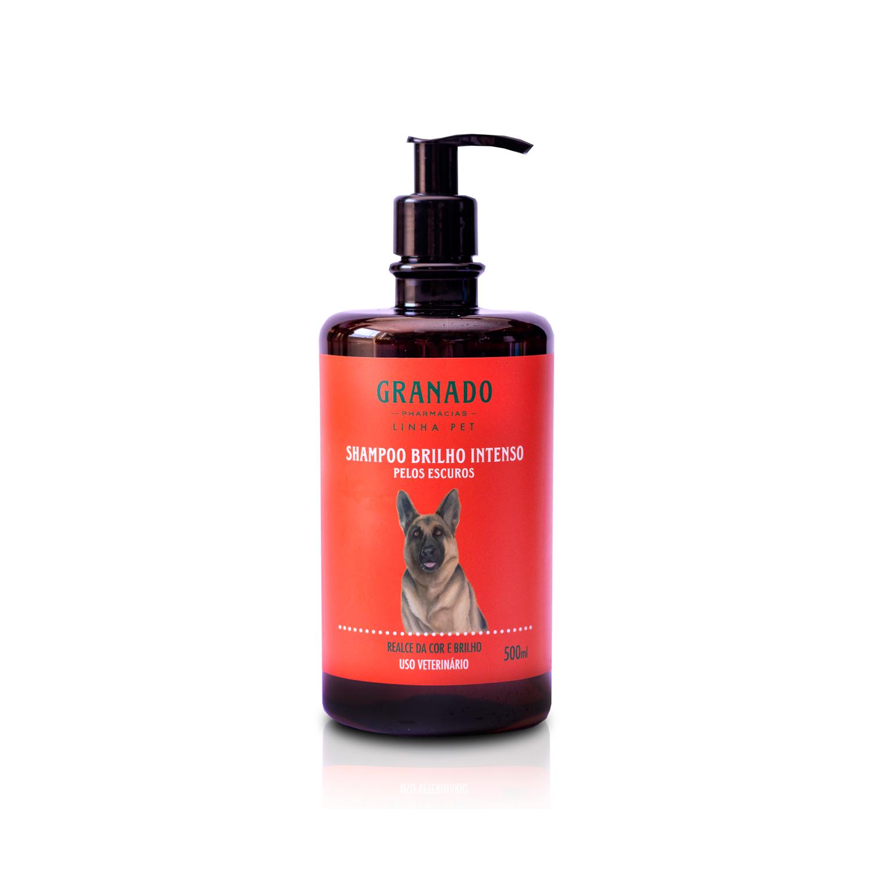 Shampoo Brilho Intenso Pelos Escuros 500ml Granado