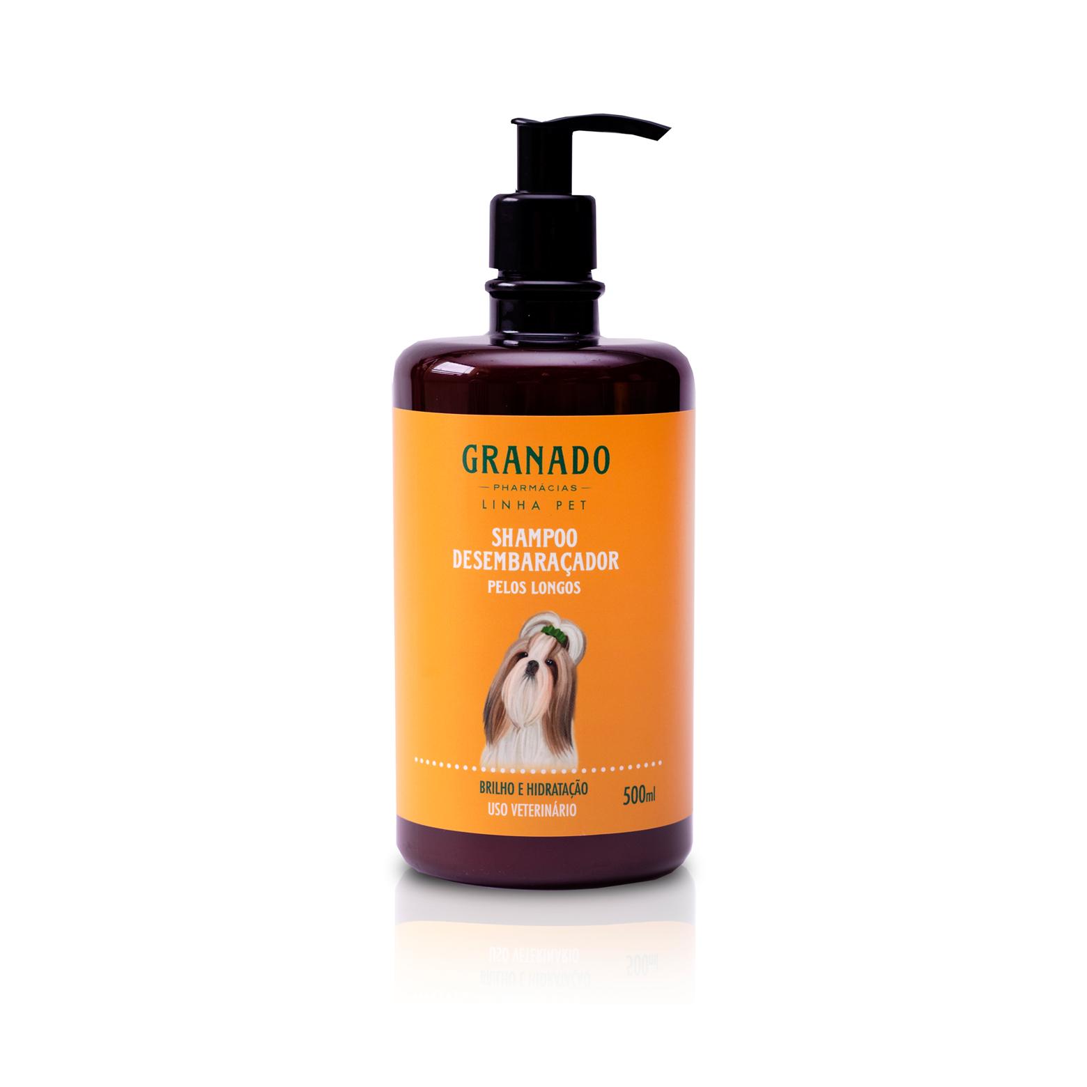 Shampoo Desembaraçador Pelos Longos 500ml Granado