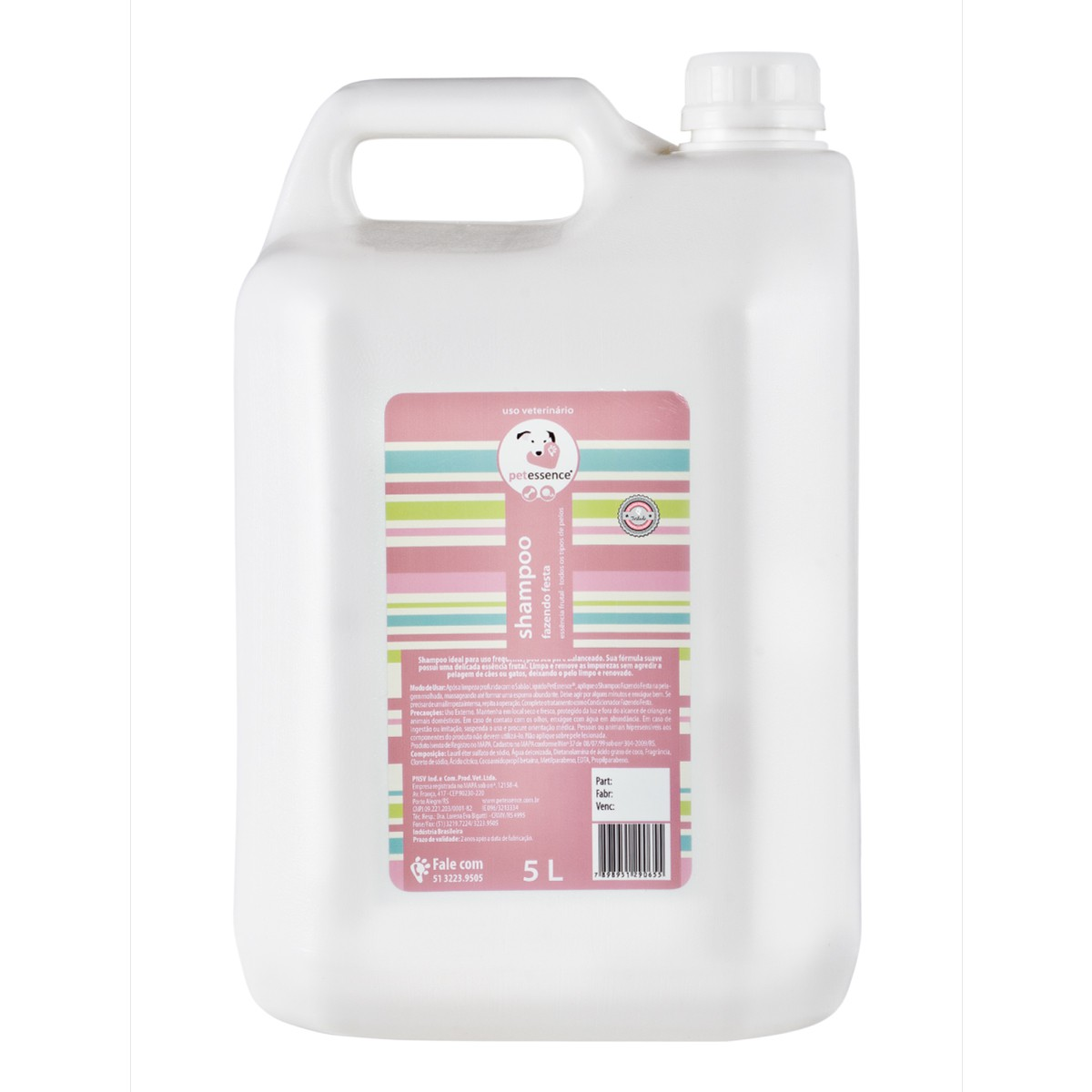 Shampoo Fazendo Festa 5L PetEssence