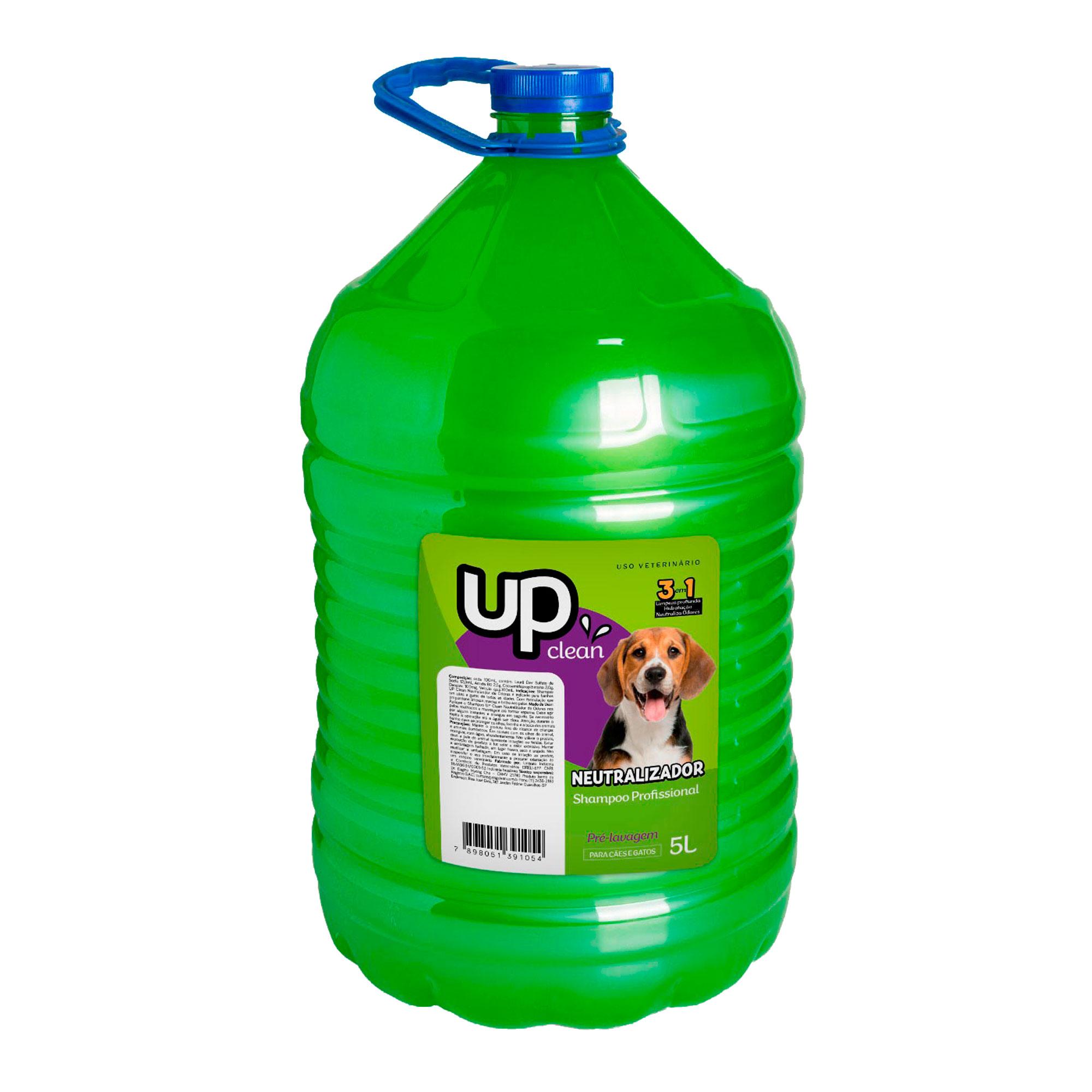 Shampoo Neutralizador de Odores 5L Up Clean