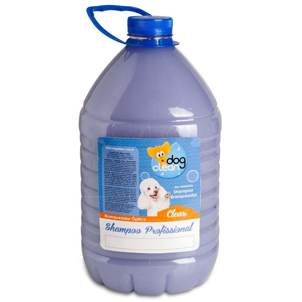 Shampoo Profissional Branqueador 5L Dog Clean