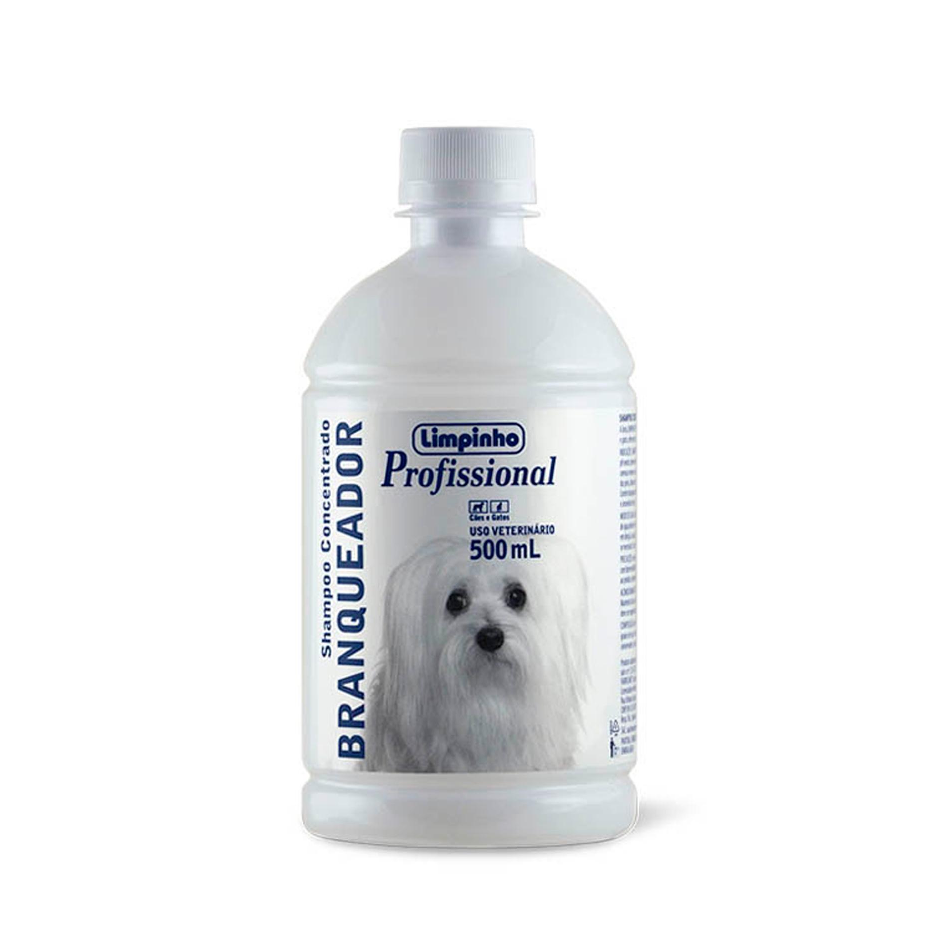 Shampoo Profissional Branqueador Concentrado Limpinho 500ml