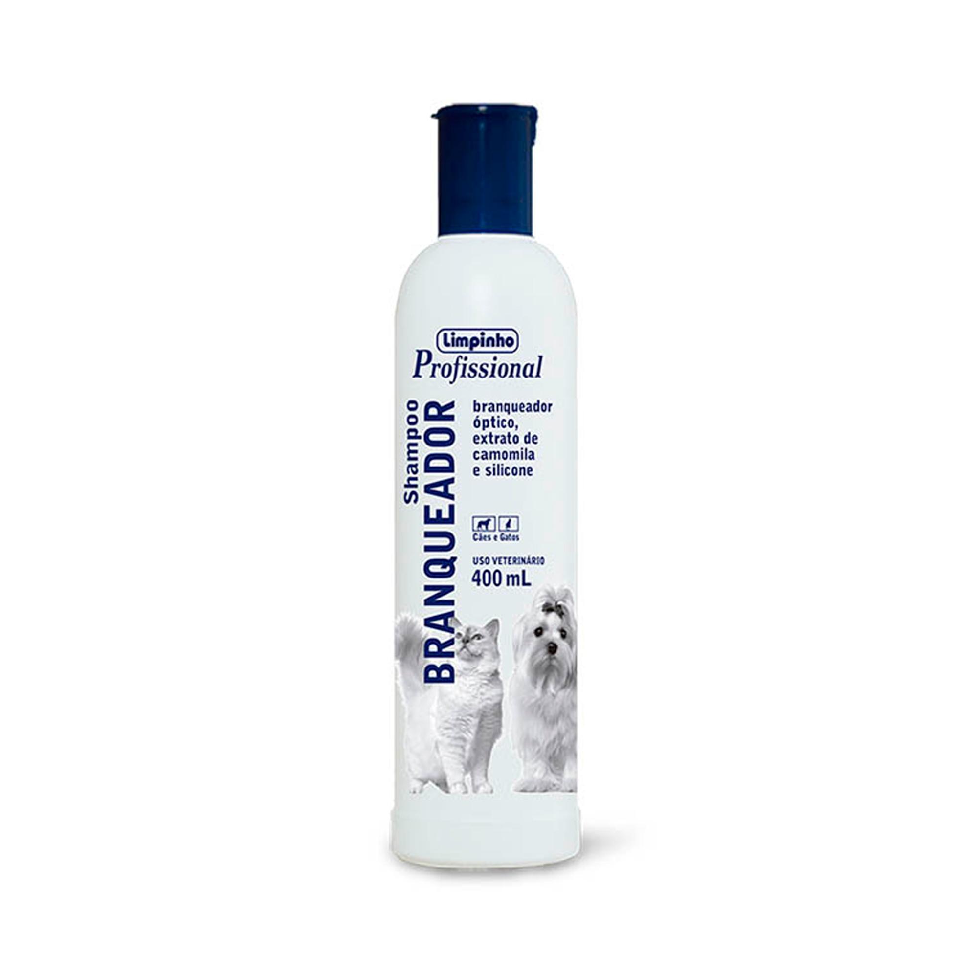 Shampoo Profissional Branqueador Limpinho 400ml