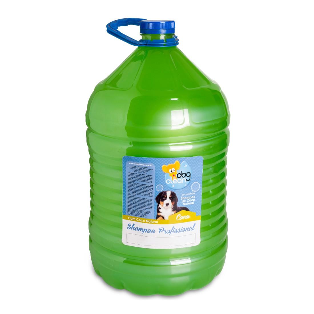 Shampoo Profissional Coco 5L Dog Clean