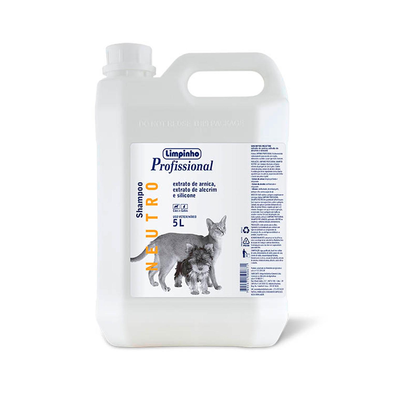 Shampoo Profissional Neutro Limpinho 5L