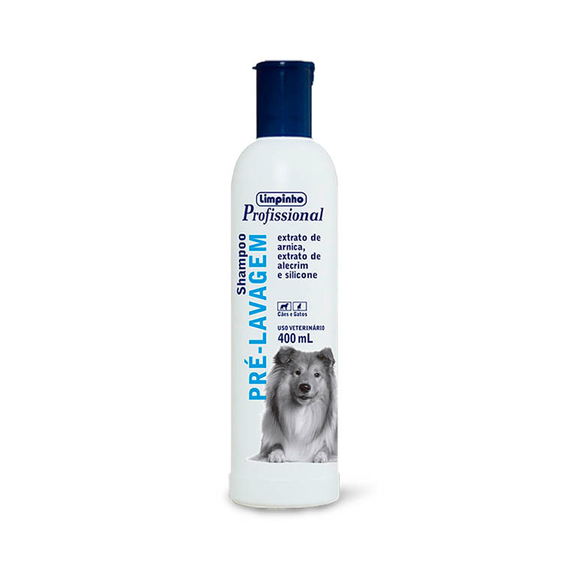 Shampoo Profissional Pré Lavagem Limpinho 400ml