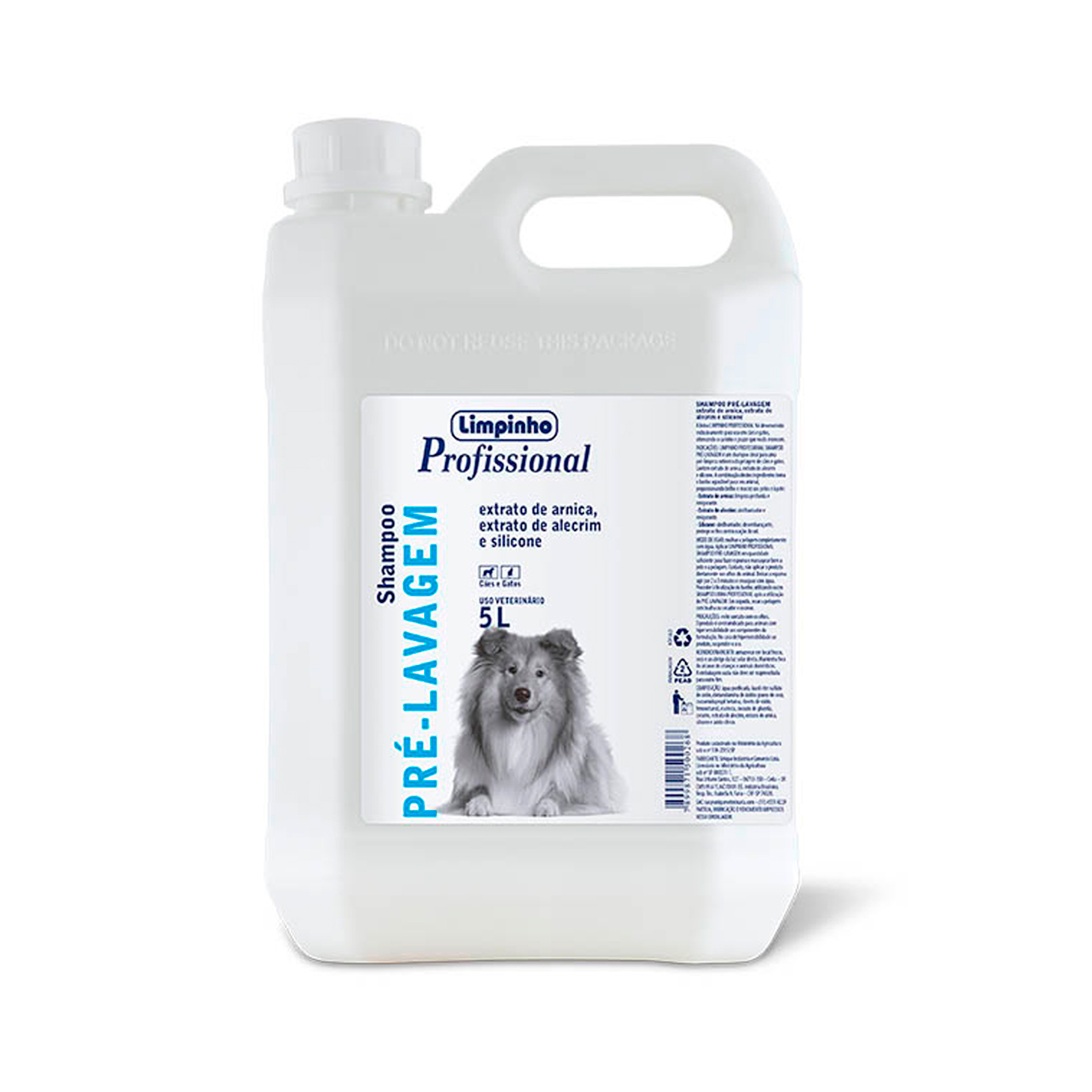 Shampoo Profissional Pré Lavagem Limpinho 5L