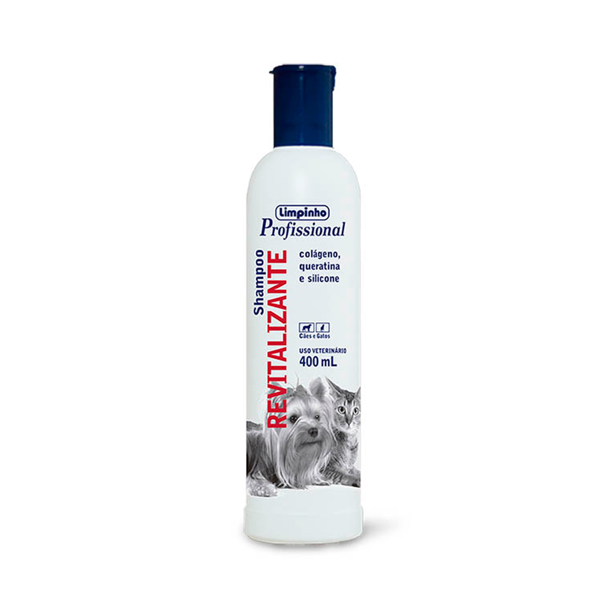 Shampoo Profissional Revitalizante Limpinho 400ml