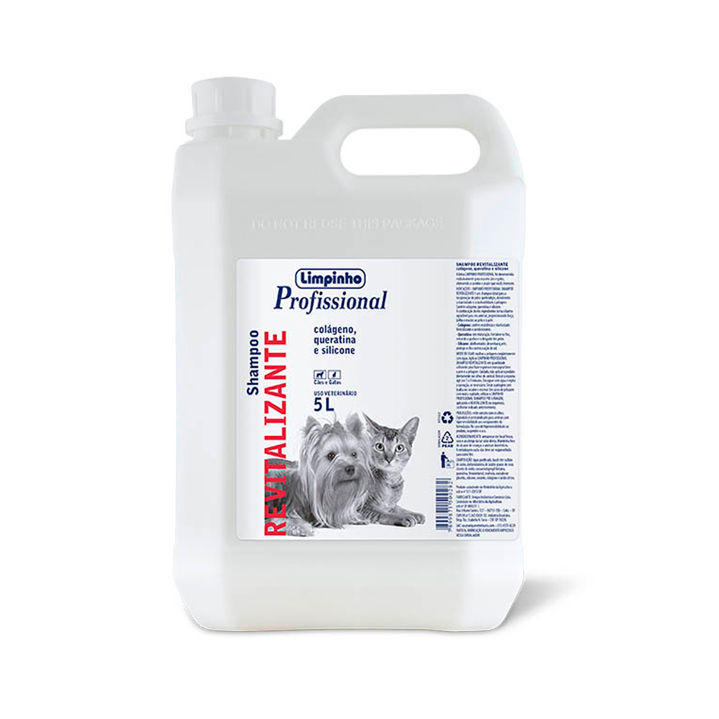 Shampoo Profissional Revitalizante Limpinho 5L