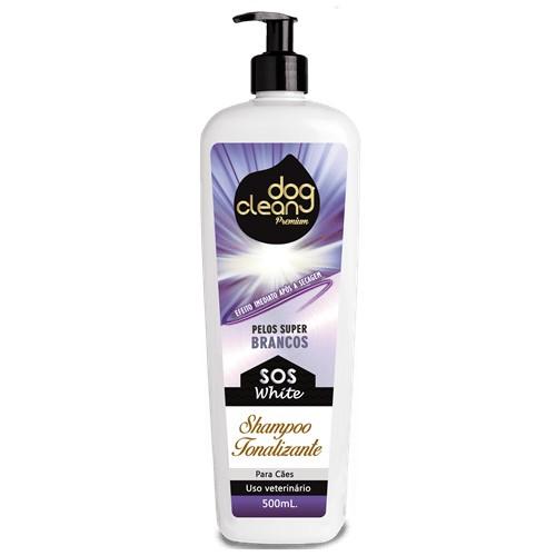 Shampoo Tonalizante Sos White 500ml Dog Clean