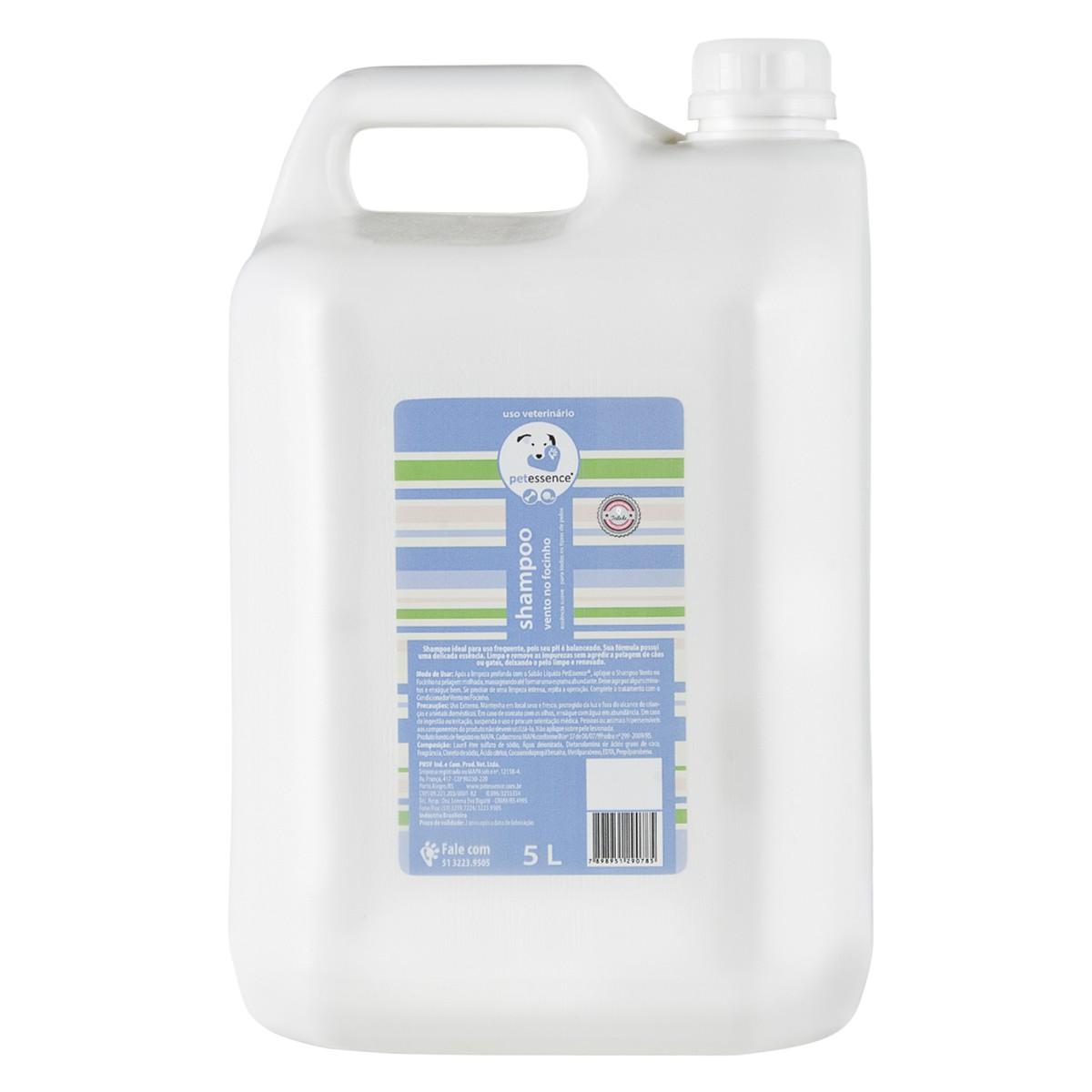 Shampoo Vento no Focinho 5L Petssence