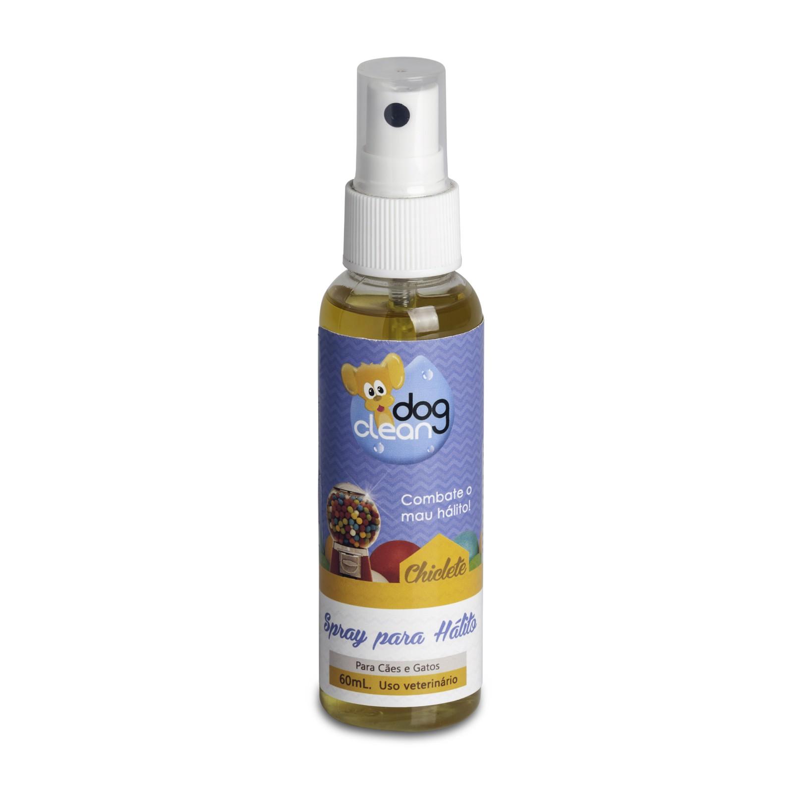 Spray para Hálito Chiclete 60ml Dog Clean