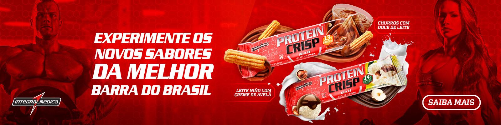 protein crisp lançamentos