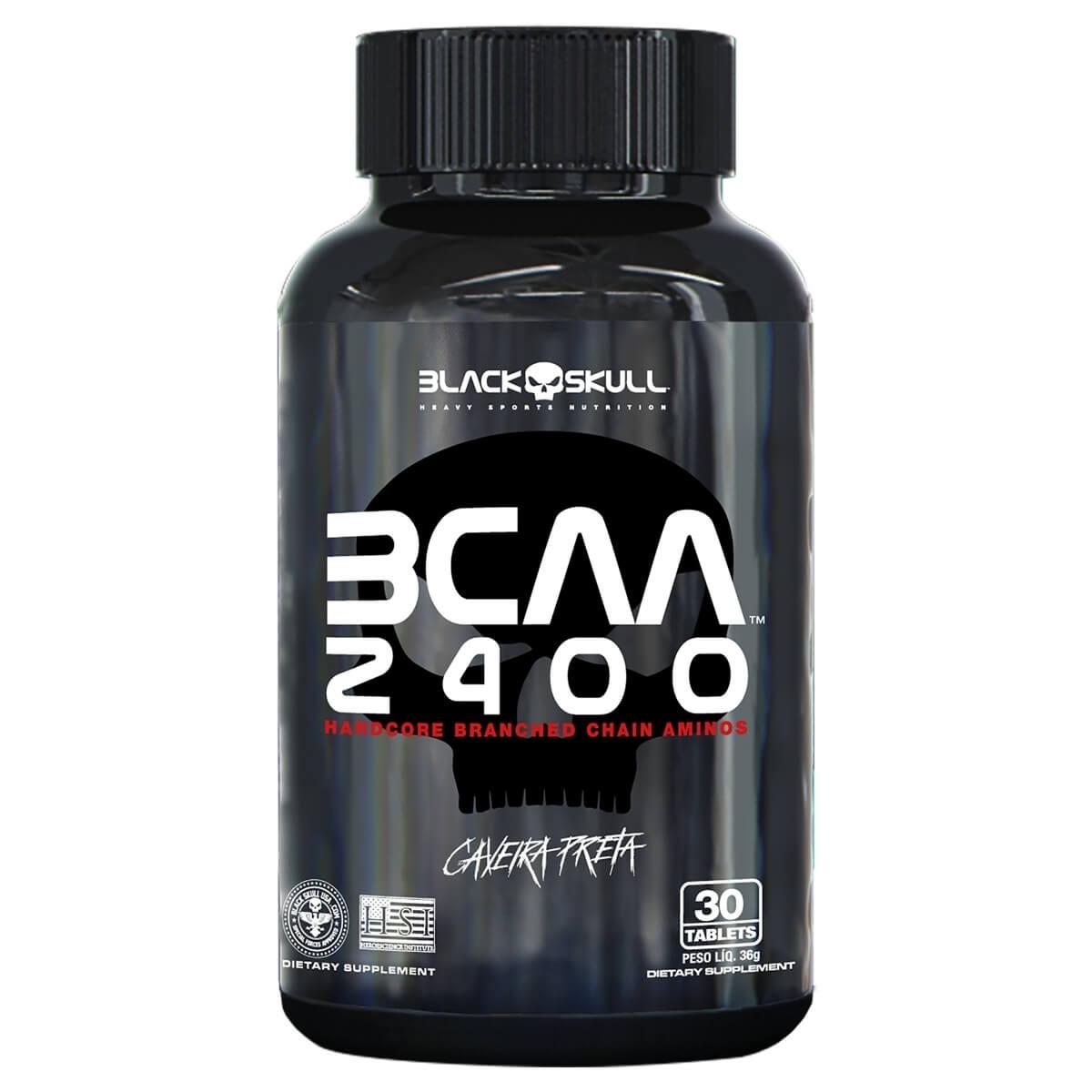 BCAA 2400 30CAPS - BLACK SKULL