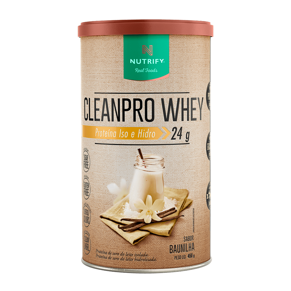 CLEANPRO WHEY 450G NUTRIFY