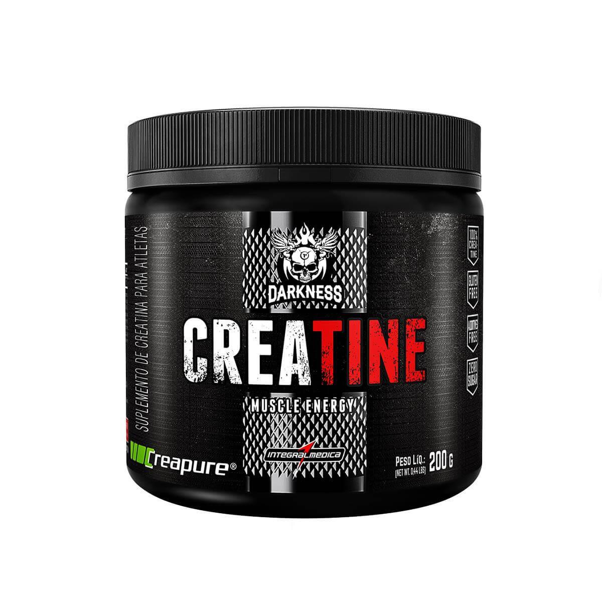 CREATINA DARKNESS 200G INTEGRALMEDICA