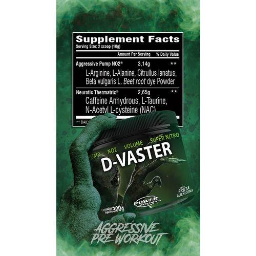 D-VASTER 300G POWER SUPLEMENTS