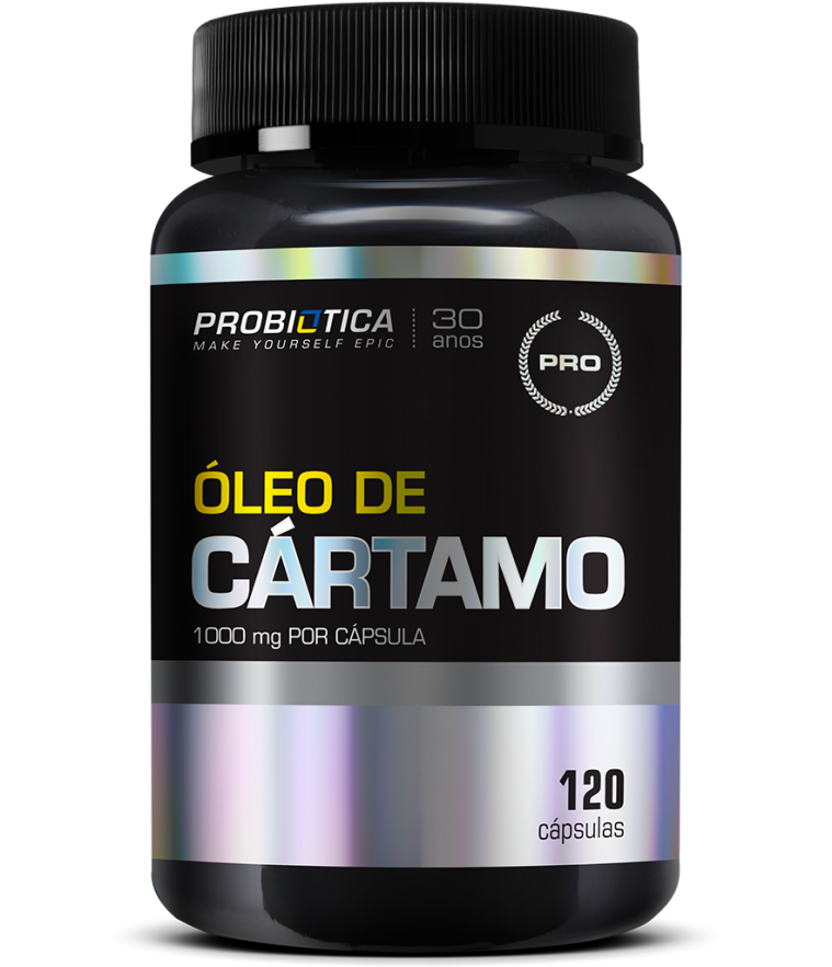 OLEO DE CARTAMO 120 CAPS PROBIOTICA