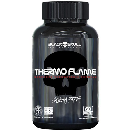 THERMO FLAME 60 TABLETES BLACK SKULL